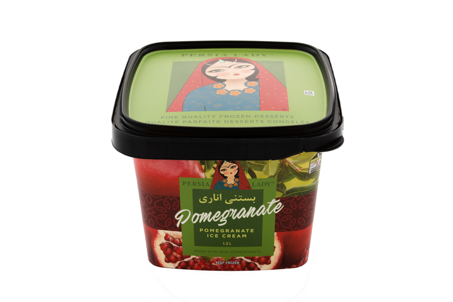 Pomegranate Ice Cream - بستنی انار