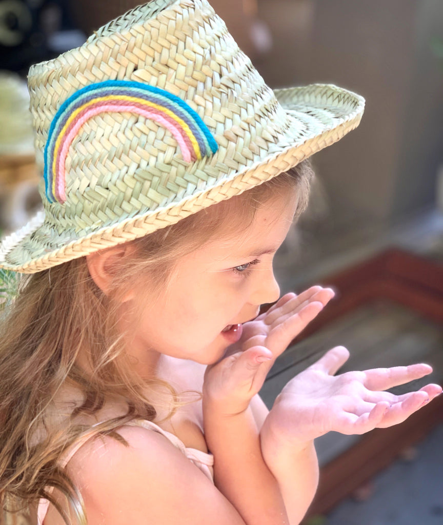Kids Hat (Pastel Rainbow) - Pretty Snippets Kids Toys & Accessories