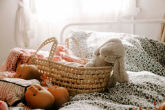 Seagrass Doll's Basket