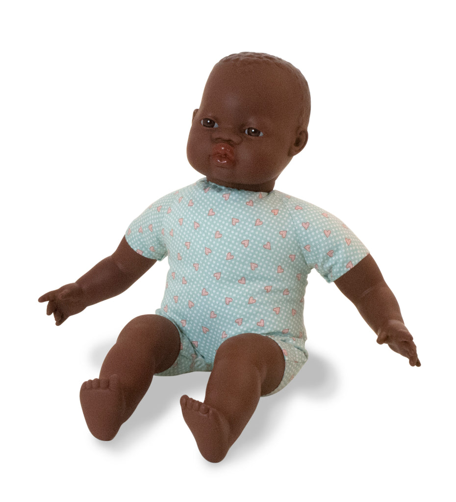 Miniland Soft Bodied Doll - African American 40cm