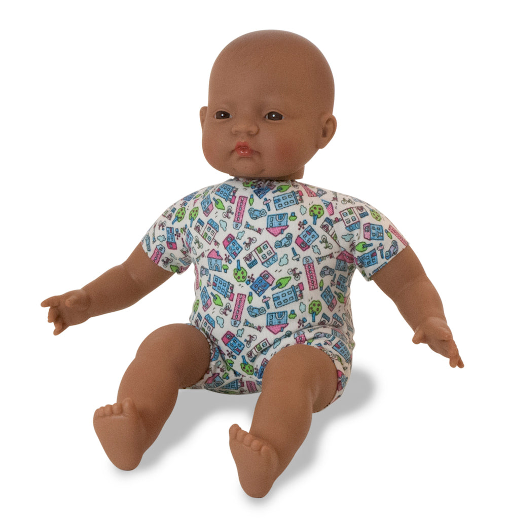 Miniland Soft Bodied Doll - Latin American 40cm - Pretty Snippets Kids Toys & Accessories