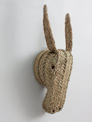 Woven Animal Head - Donkey - Pretty Snippets Kids Toys & Accessories