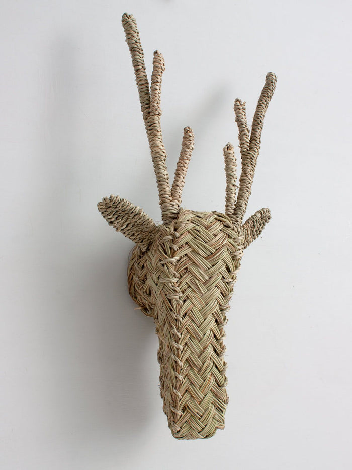 Woven Animal Head - Stag - Pretty Snippets Kids Toys & Accessories