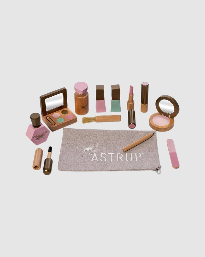 Astrup Wooden Make-Up Set - 13pcs