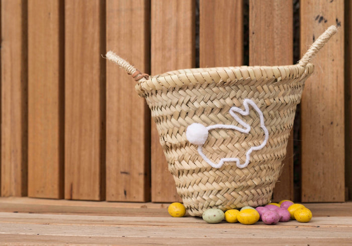 Bunny Mini Basket - Pretty Snippets Kids Toys & Accessories
