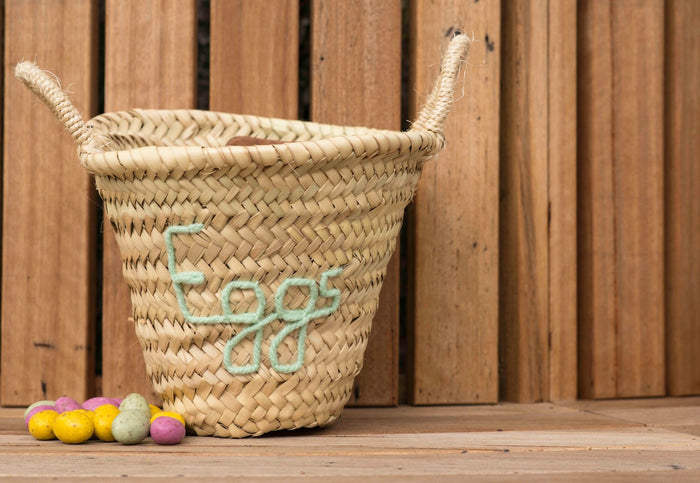 'Eggs' Mini Basket - Pretty Snippets Kids Toys & Accessories