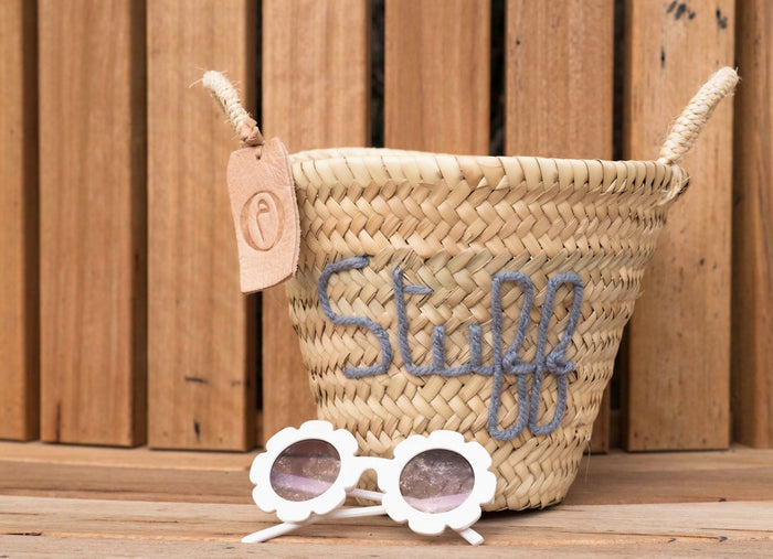 'Stuff' Mini Basket - Pretty Snippets Kids Toys & Accessories