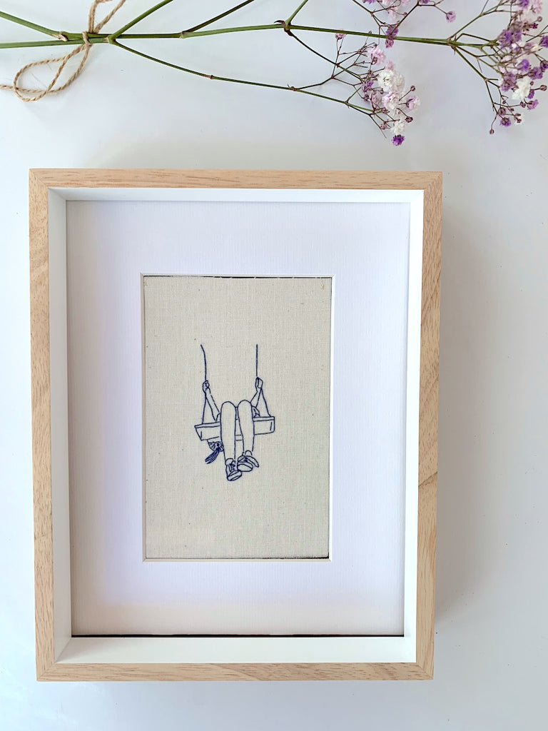 'The Soaring' - Embroidery - Pretty Snippets Kids Toys & Accessories