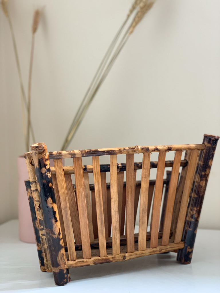 Tiger Cane Letter Rack - Vintage - Pretty Snippets Kids Toys & Accessories