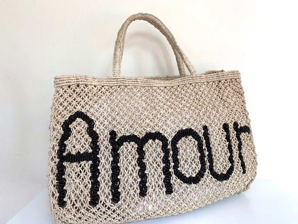 Amour - Natural & Black (Small) - Pretty Snippets Kids Toys & Accessories