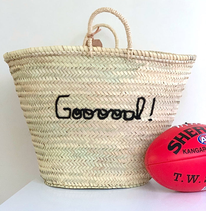 Personalised LARGE Basket - Next Order Deadline 1st June 2020 - Pretty Snippets Kids Toys & Accessories