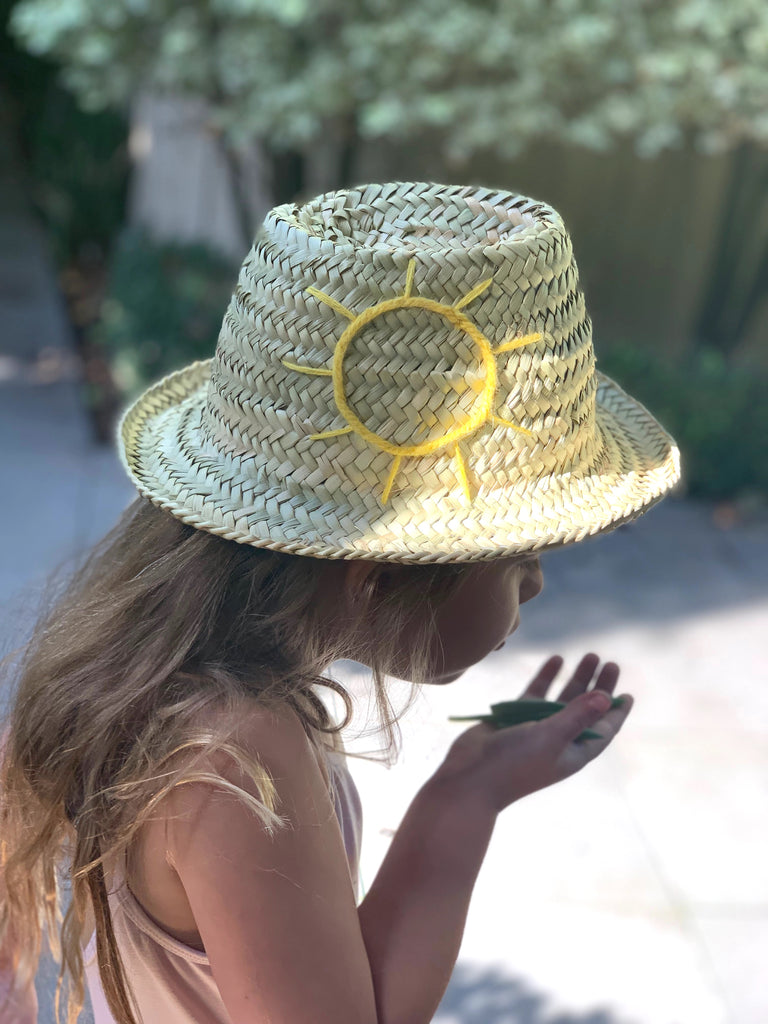 Kids Hat (Sun) - Pretty Snippets Kids Toys & Accessories