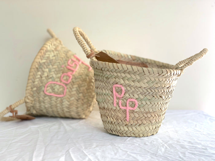 Personalised MINI Basket - Next Order Deadline 1st June 2020 - Pretty Snippets Kids Toys & Accessories