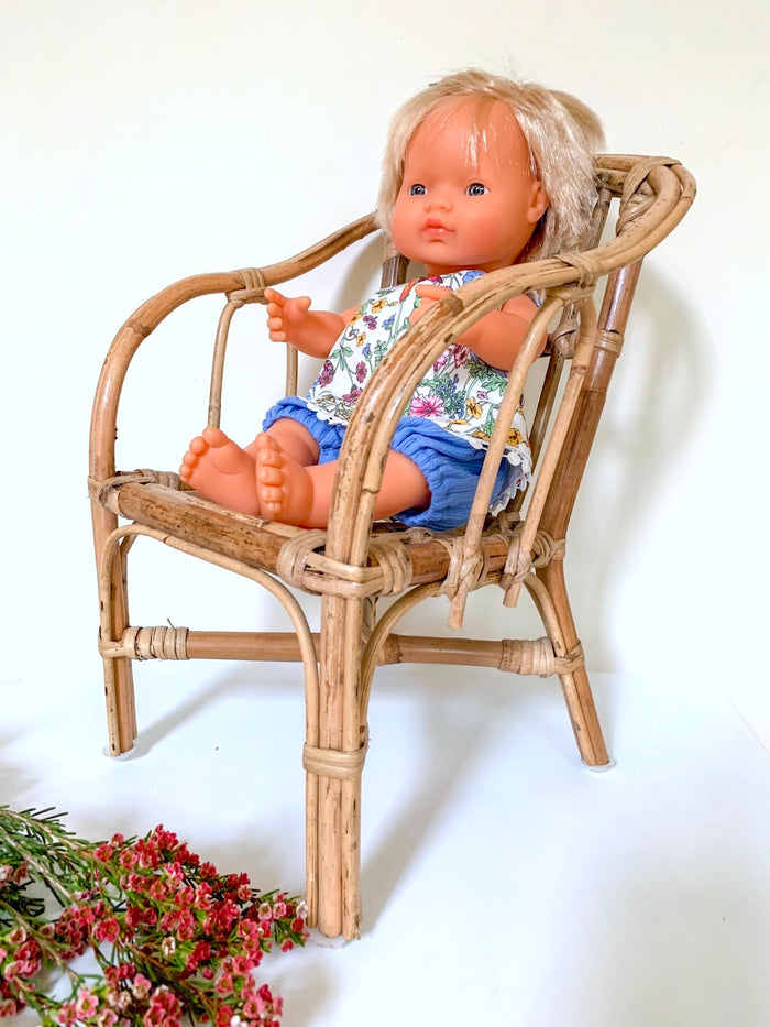 Rattan Doll's Chair - Pretty Snippets Kids Toys & Accessories