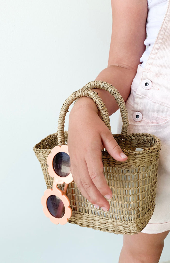 Mini Seagrass Basket - Pretty Snippets Kids Toys & Accessories
