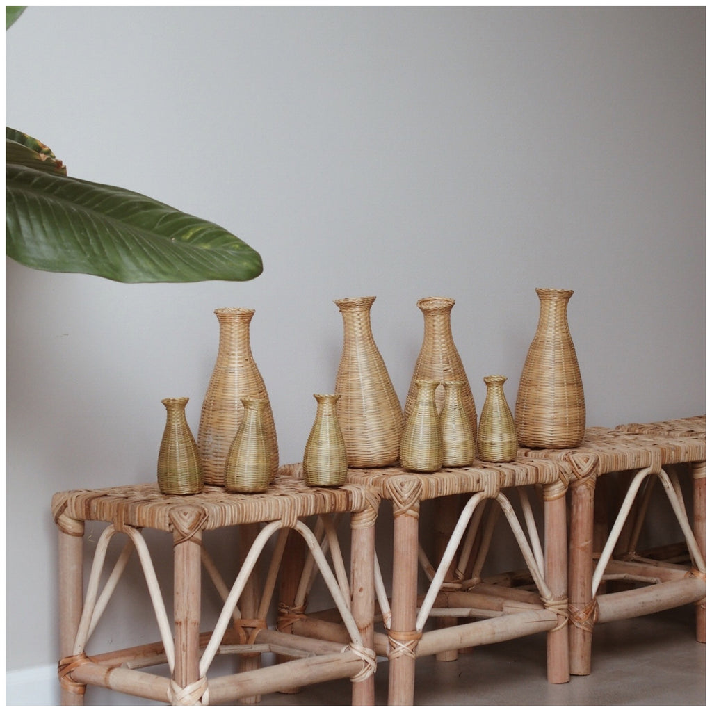 Bamboo Vase - Xia (Large) - Pretty Snippets Kids Toys & Accessories
