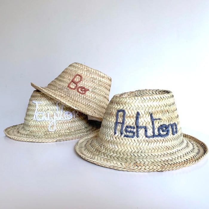 Personalised KIDS Hat - Next Order Deadline 1st June 2020 - Pretty Snippets Kids Toys & Accessories