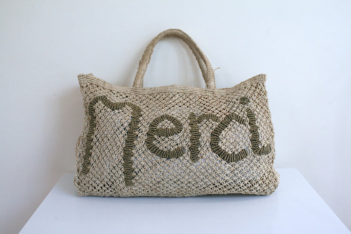 Merci - Natural & Khaki (Small) - Pretty Snippets Kids Toys & Accessories