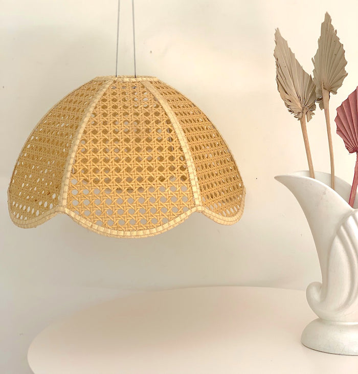 Rattan Lampshade  - Vintage - Pretty Snippets Kids Toys & Accessories
