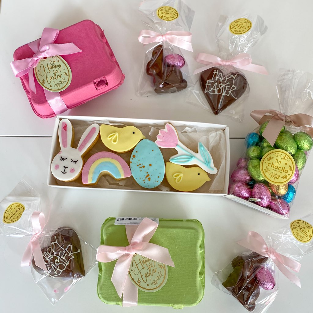 PartyBebe Easter Treat Hamper - Small - Pretty Snippets Kids Toys & Accessories
