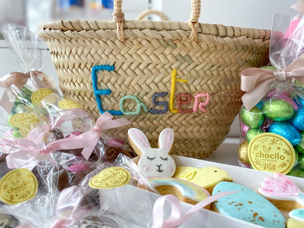 PartyBebe Easter Treat Hamper - Large - Pretty Snippets Kids Toys & Accessories
