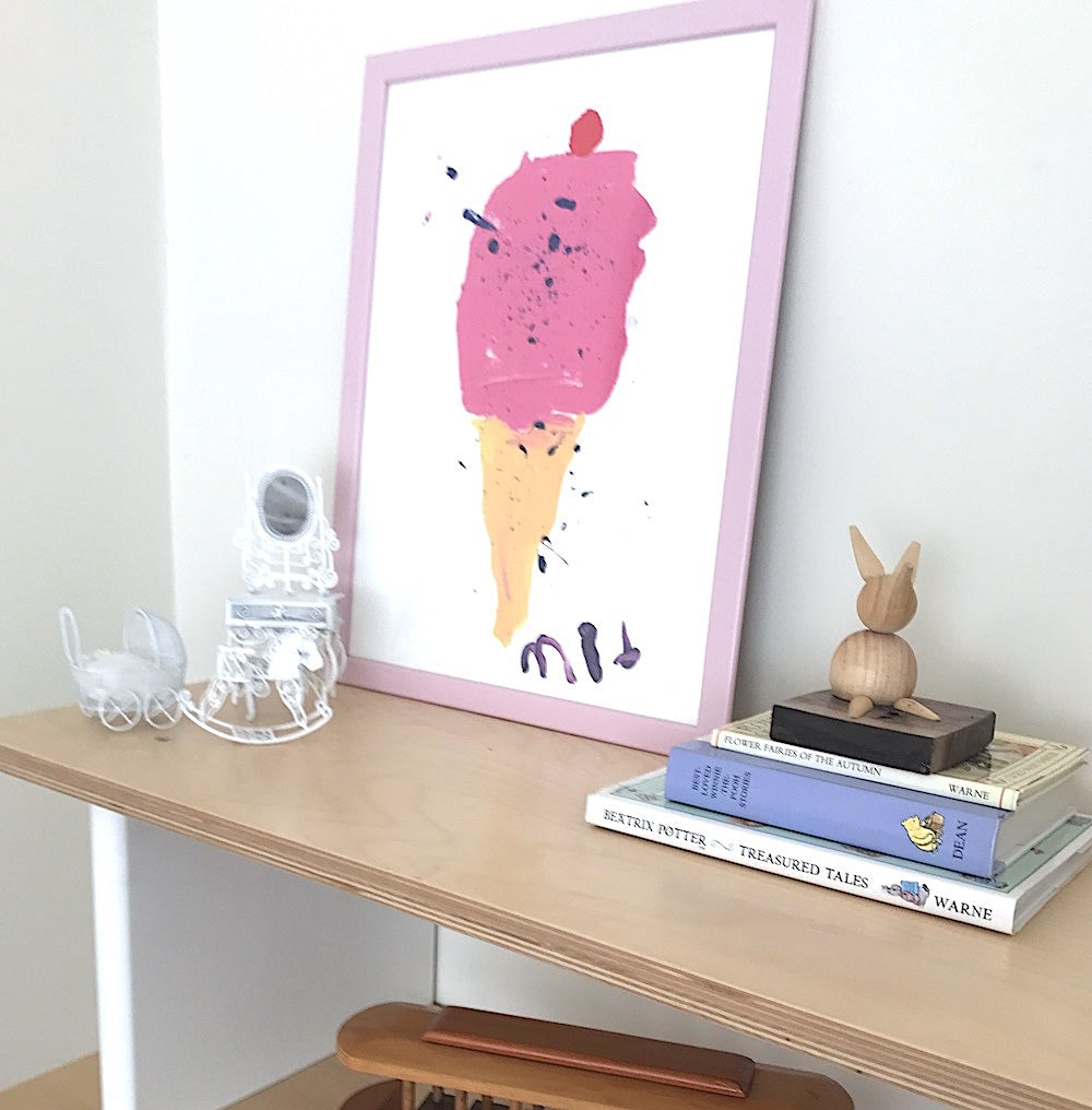 Icecream - Marta Abad Blay - Pretty Snippets Kids Toys & Accessories