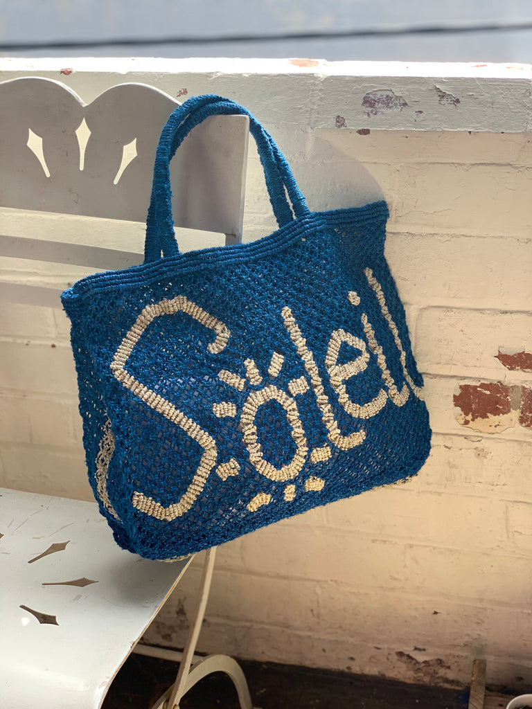 Soleil - Cobalt Blue & Natural (Small) - Pretty Snippets Kids Toys & Accessories