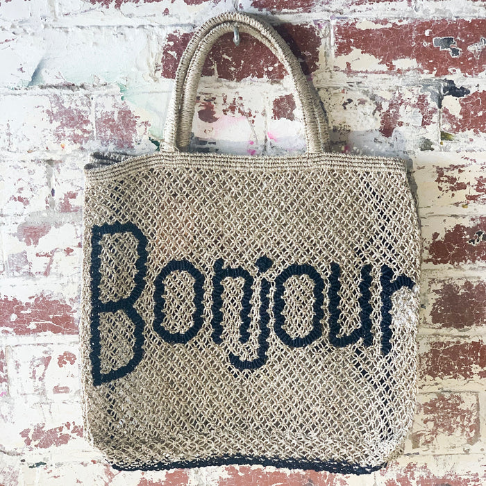 Bonjour - Natural & Indigo (Large) - Pretty Snippets Kids Toys & Accessories