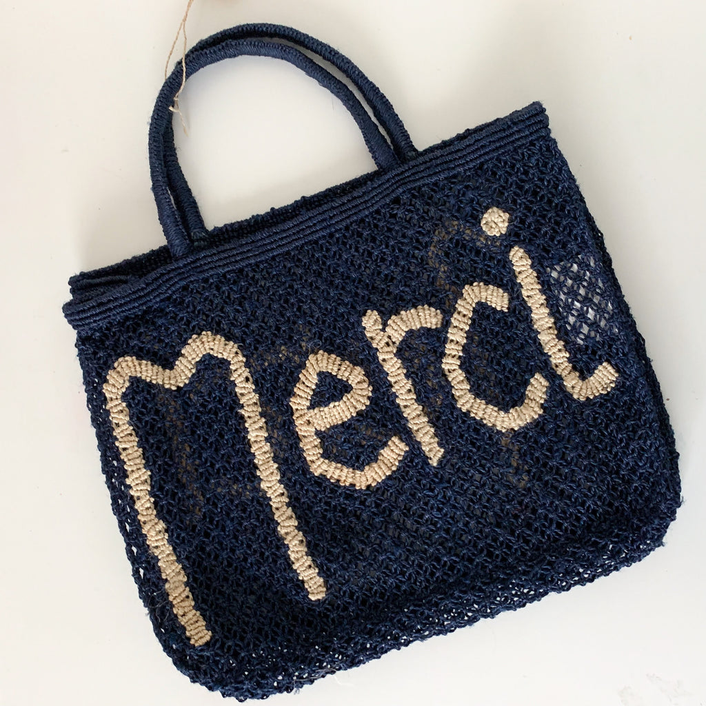 Merci - Navy & Natural (Small) - Pretty Snippets Kids Toys & Accessories
