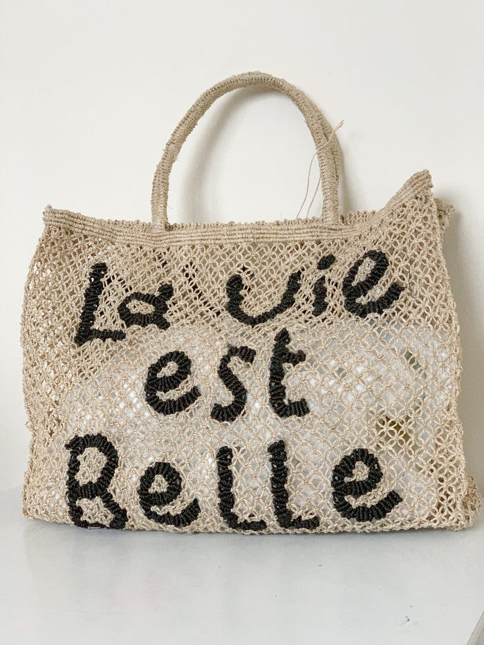 La Vie Est Belle - Natural & Black (Large) - Pretty Snippets Kids Toys & Accessories