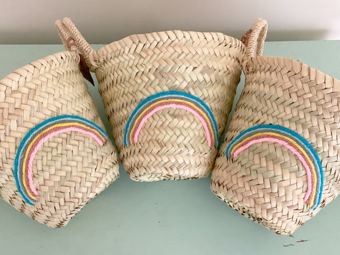 Rainbow (Pastel) Mini Basket