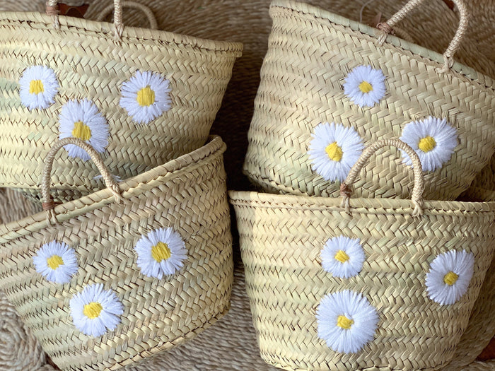 Daisy Basket (Small) - Pretty Snippets Kids Toys & Accessories