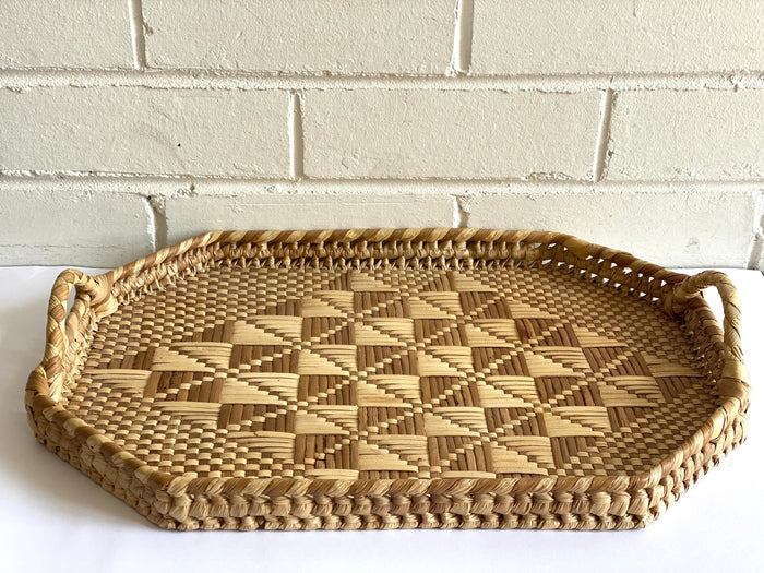 Woven Tray - Vintage