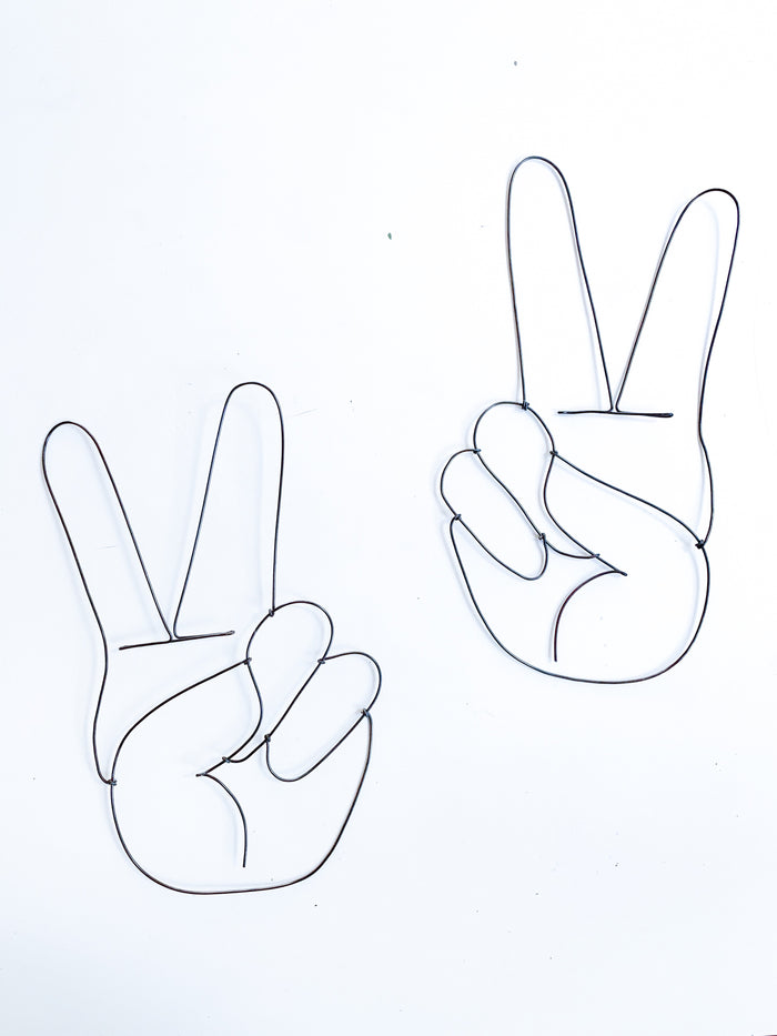 Peace Sign - Hand - Pretty Snippets Kids Toys & Accessories