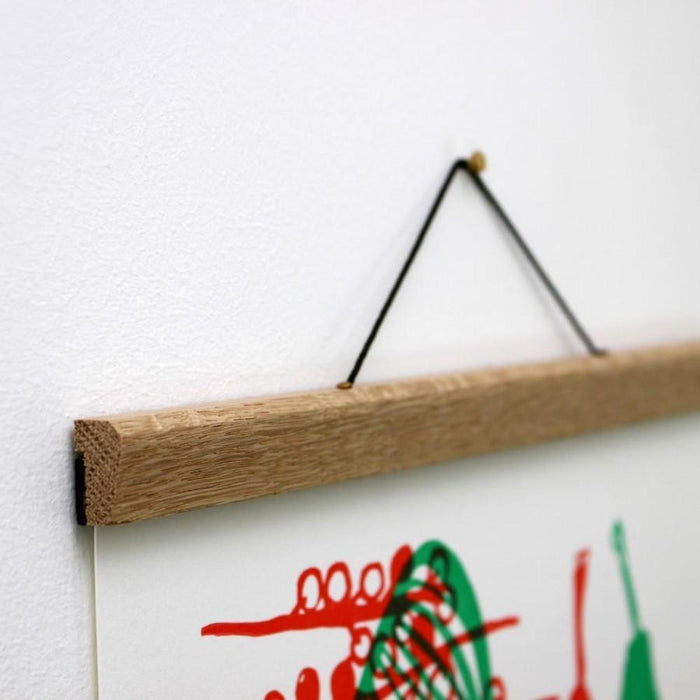 Poster Hangers - Natural Oak - Pretty Snippets Kids Toys & Accessories