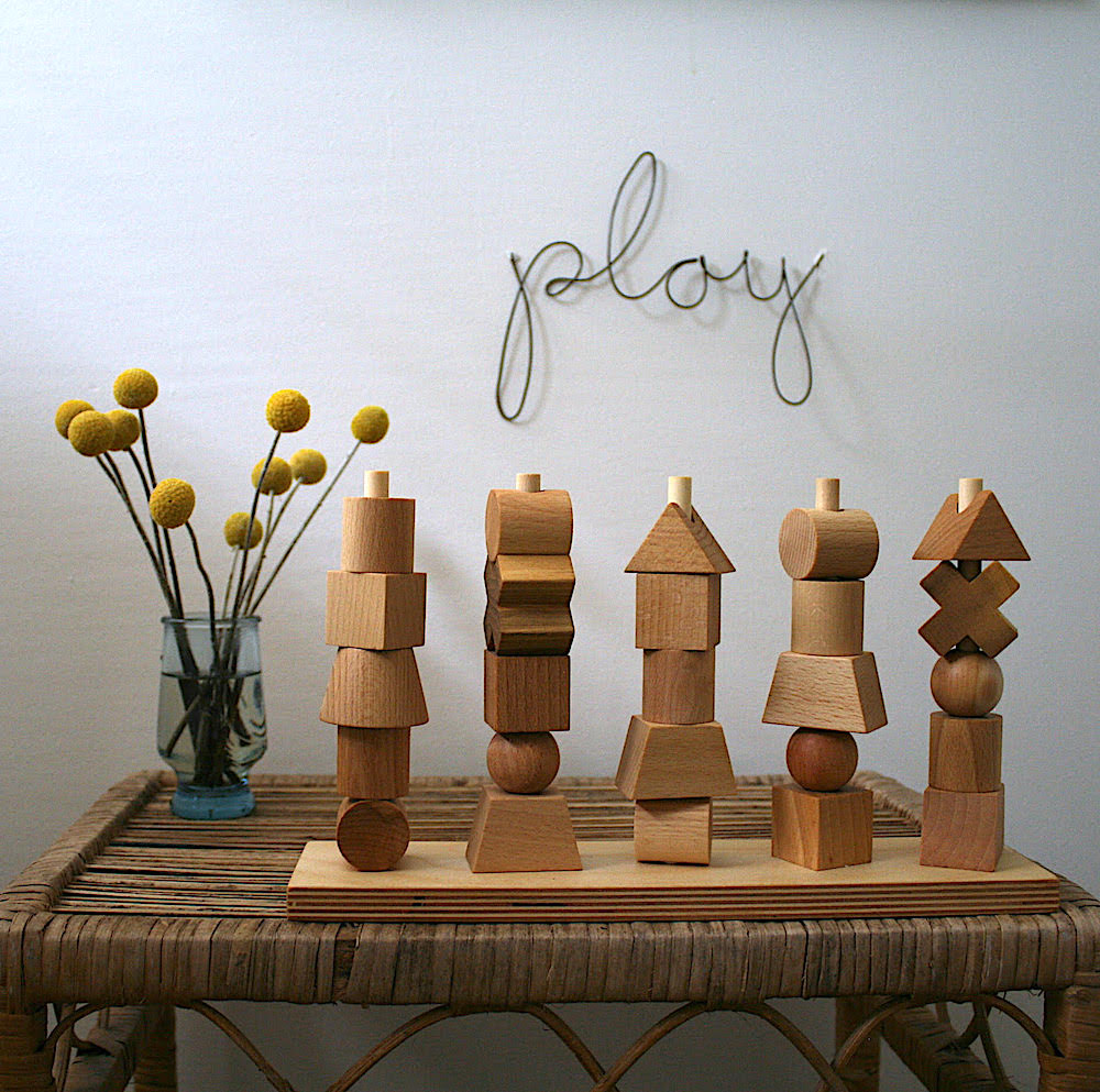 'Play' Wire Word - Pretty Snippets Kids Toys & Accessories
