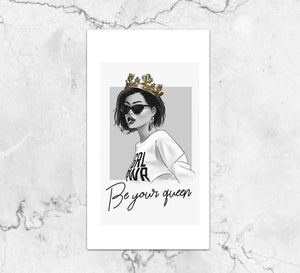 Be Your Queen Dashboard