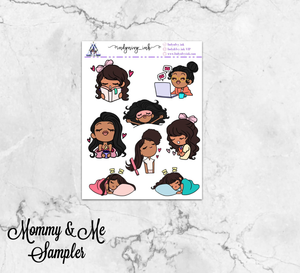 Mommy & Me Self-Care Series One Stickers