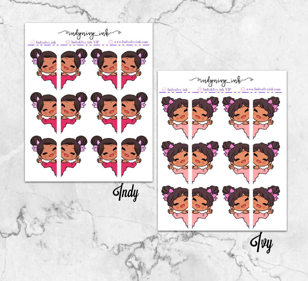 Indy & Ivy Peek-a-Boo Stickers