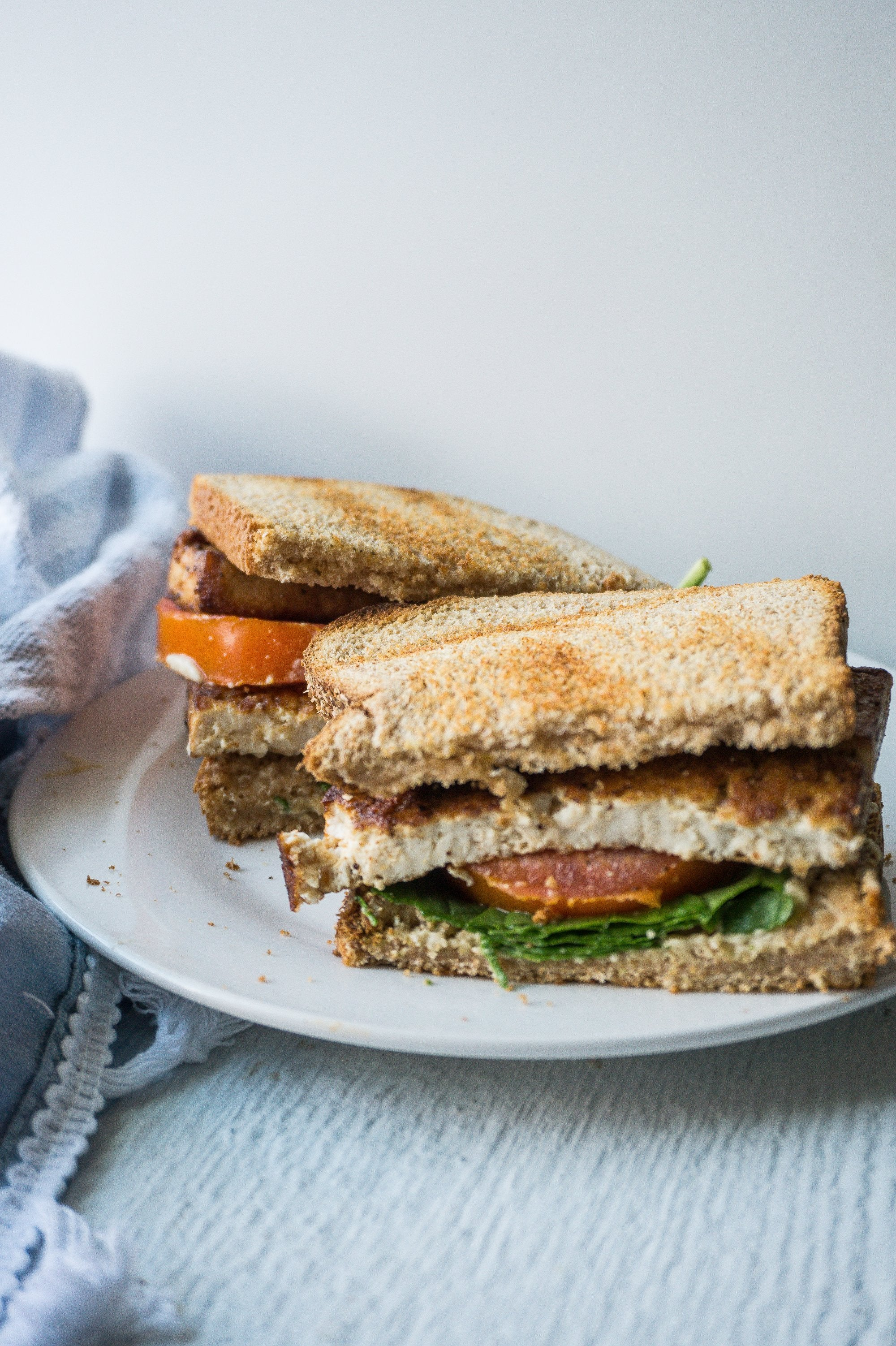 The Vegan BLT with Tofu