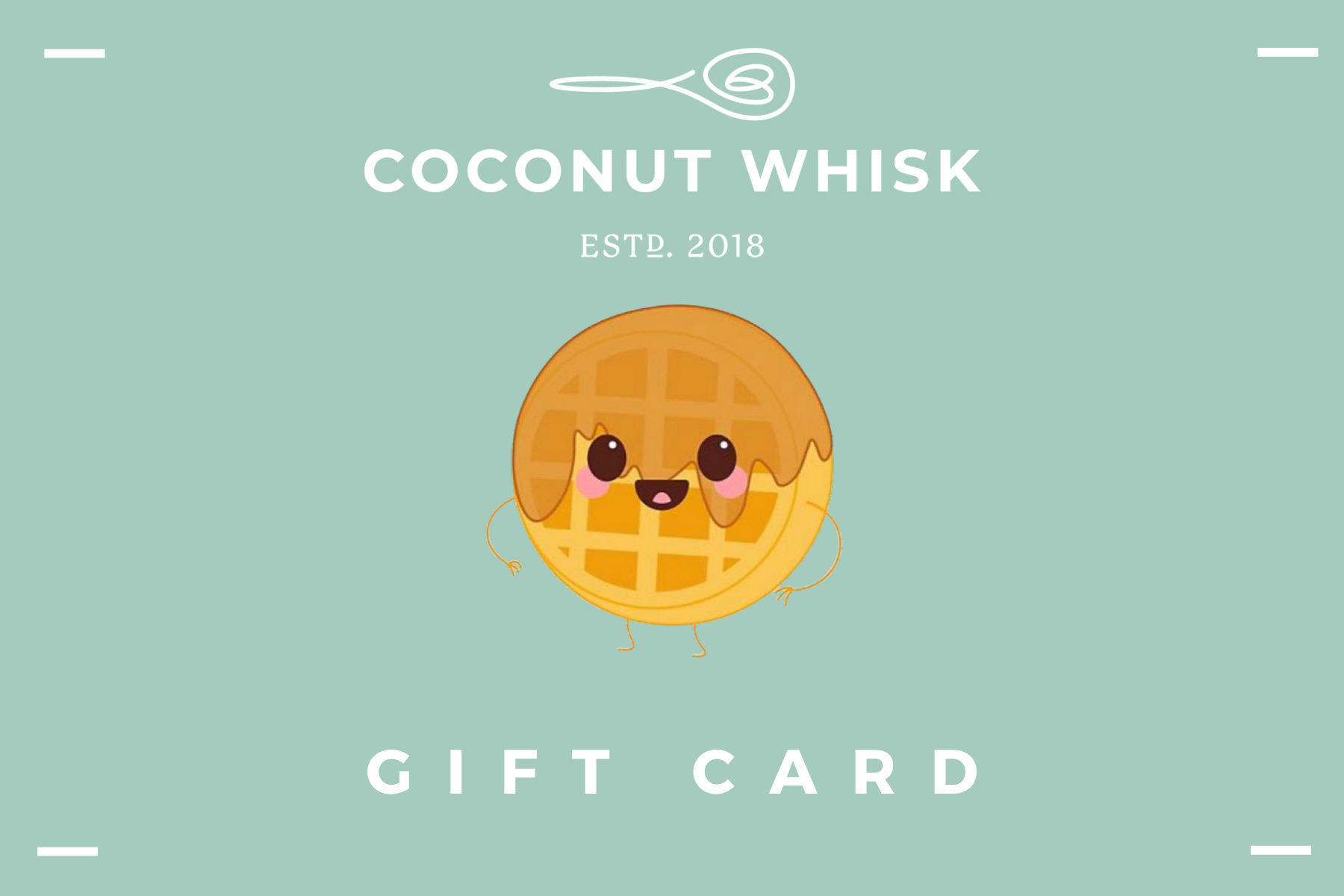 COCONUT WHISK GIFT CARDS