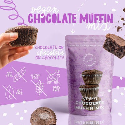Vegan Chocolate Muffin Mix