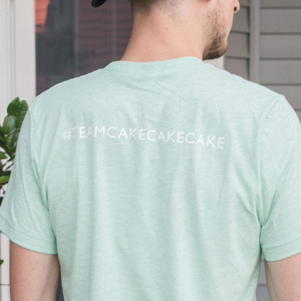 #TEAMCOCONUT Unisex T-Shirts Coconut Whisk Baking Co. M / Mint (#teamcakecakecake)