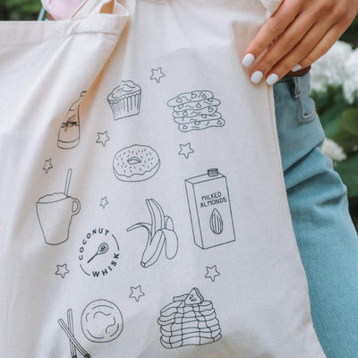 The Vegan Essentials Tote Bag Coconut Whisk Baking Co.