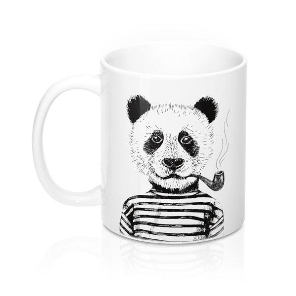 old - Hipster Panda Coffee Mug
