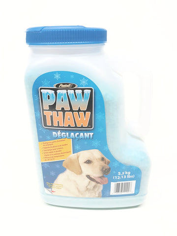 PAW THAW: Pet friendly ice Melter