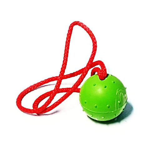 Solid Rubber Ball with Handle