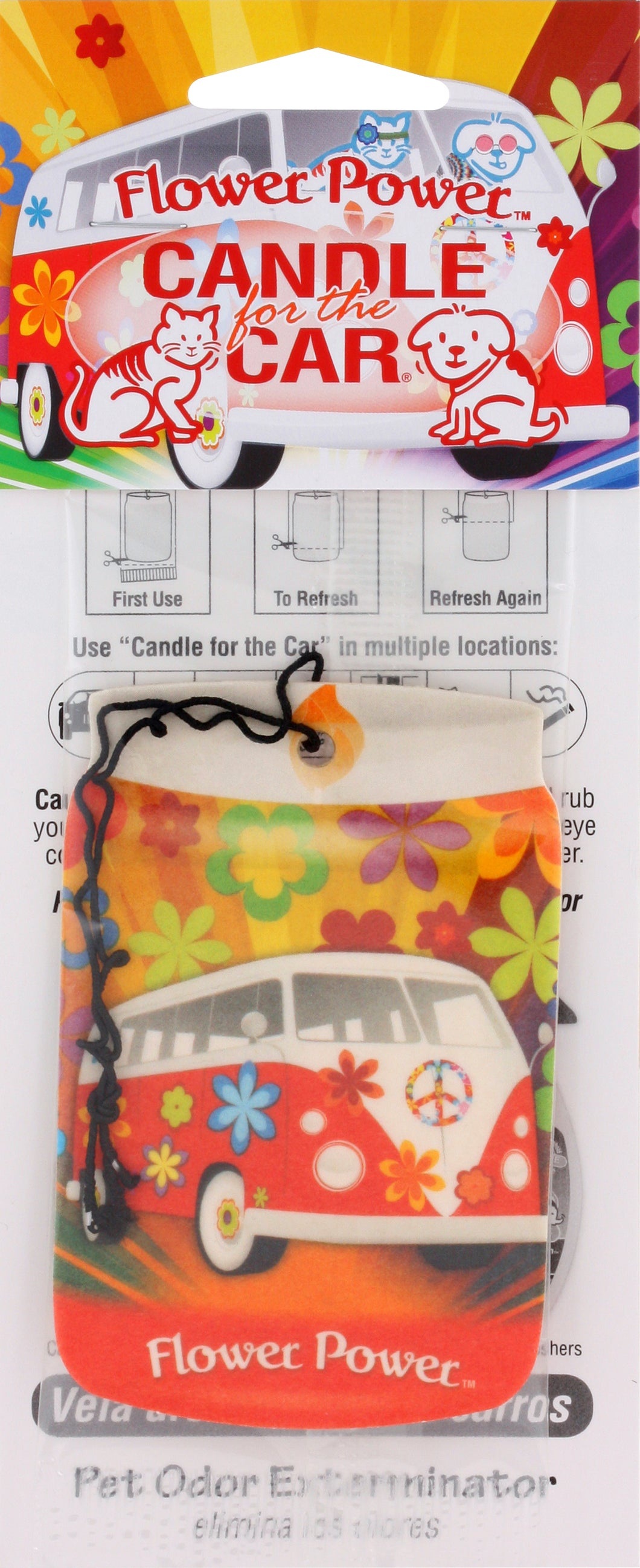 Flower Power - Car Freshener #07835