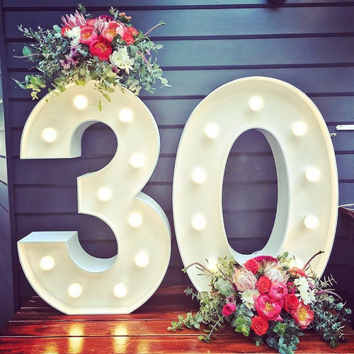 30 - Light up numbers