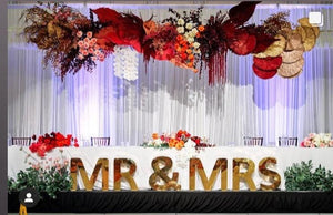 Golden MR&MRS-60cm high
